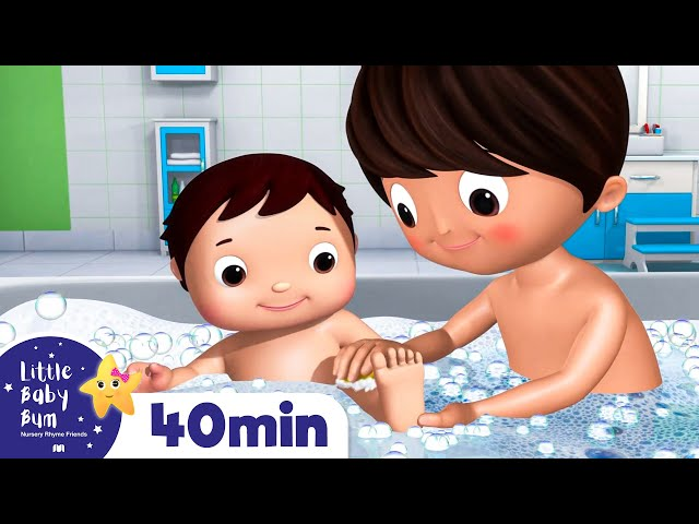 Bath Time | Nursery Rhymes & Kids Songs | Little Baby Bum | Cartoons For Kids | +More Nursery Rhymes