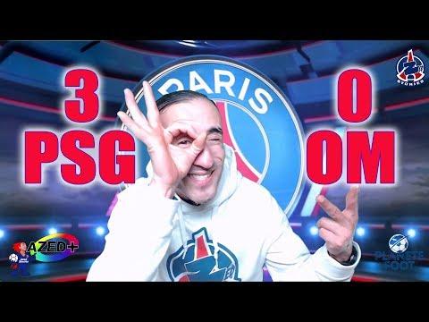PSG 3-0 OM Classico - Azéd Stories