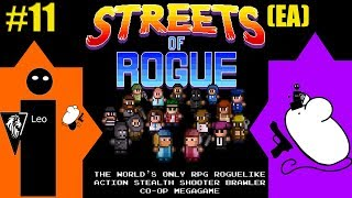 Let's Play Streets of Rogue (EA) coop with Mousegunner #11