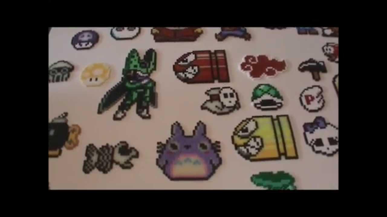 Bugelperlen Vorlage 50 Collection Perler Bead Youtube