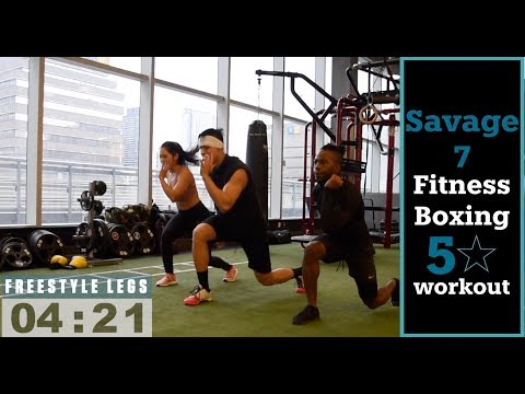 Savage 7 INTERVAL FITNESS  AND BOXING WORKOUT