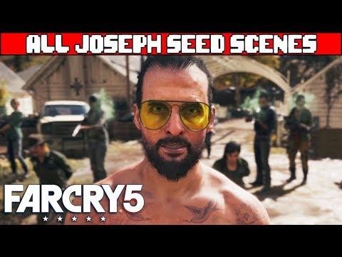 FAR CRY 5 All Joseph Seed Scenes