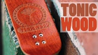 TonicWood Fingerboards - Alien Head Fingerboard Deck - Product Blog thumbnail
