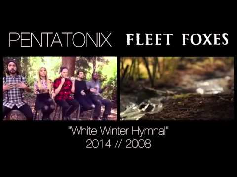 white winter hymnal pentatonix themickbab side by side. Black Bedroom Furniture Sets. Home Design Ideas