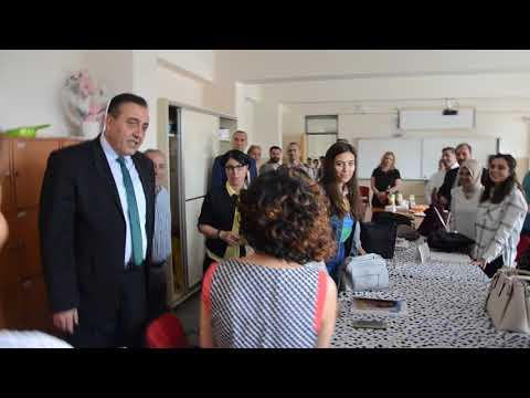 Şehit Yaşar Çetinkaya Okuluna İkisi Bir Arada Ziyaret