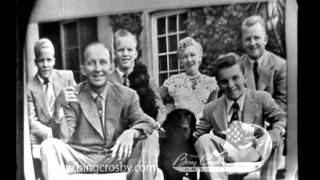 Bing Crosby: Edward R. Murrow's Person to Person - 1954