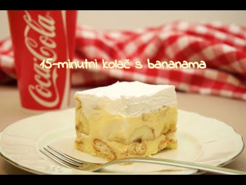 15-minutni kolač s bananama  • ReciPeci Sandre Gašparić