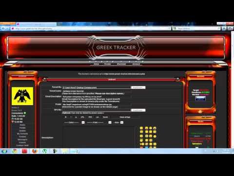 Pos anebazoume torrent ston Greek-Tracker