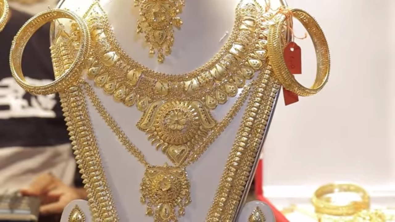 Beautiful Gold Ka Kaner Dul Dijain Photos - Jewelry Collection ...