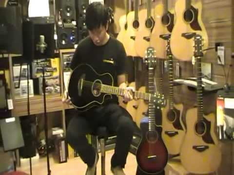 yamaha apxt2 3 4 size acoustic electric guitar youtube. Black Bedroom Furniture Sets. Home Design Ideas