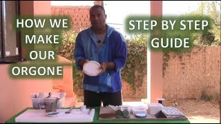 How We Make Our Orgone Step By Step Guide.