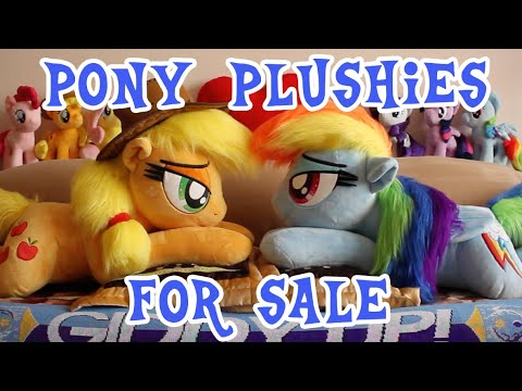 MLP:FiM Plushies For Sale: Applejack, Rainbow Dash