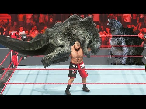 WWE 2K19 Never Call Out Godzilla or This Happens | GODZILLA MOD