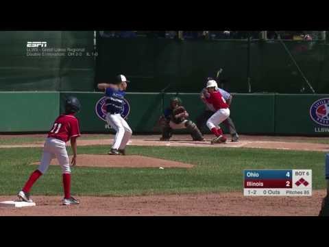 2017 LLWS Great Lakes Regionals Ohio vs Illinois