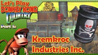 Detonado Donkey Kong Country Br - 5º Mundo P2 - Indústrias Kremkroc S.A.