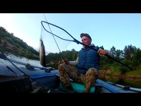 Один на лесной реке!Рыбалка сплавом!Бобровая река!