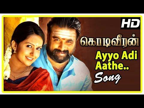 Ayyo Adi Aathe Song | Kodi Veeran Movie Scenes | Mahima Nambiar Falls For Sasikumar