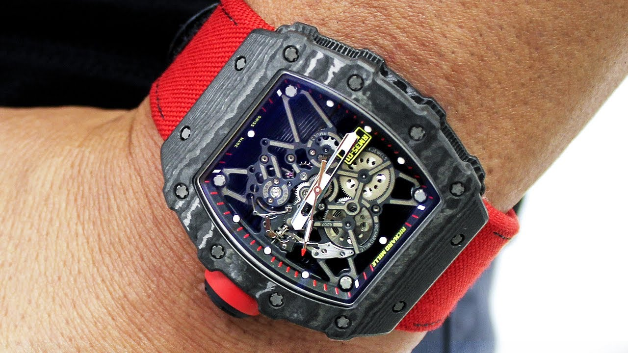 Richard Mille Rm35 Rafael Nadal Watch Review Youtube