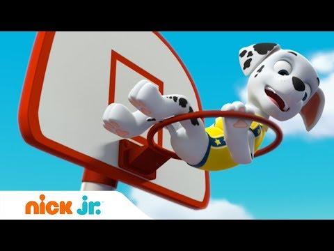 Щенячий патруль | Щенки спасают баскетбольный матч 🏀| Nick Jr. Россия