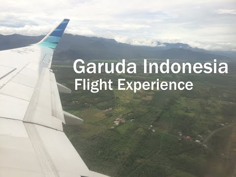 Garuda Indonesia Flight Experience : GA 149 Padang to Jakarta (B737-800NG)