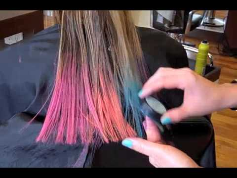 Color Bug Hair Chalk - YouTube