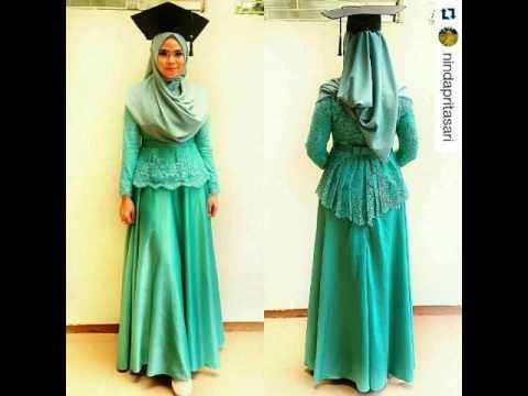 Model Hijab Kebaya Wisuda Modern Dan Elegan 2017