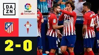 Antoine Griezmann zündet die Rakete: Atletico Madrid - Celta Vigo 2:0 | La Liga | Highlights | DAZN