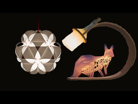 6 Cool Gadgets - Modern Lamps and Lighting System For Your Room Decoration