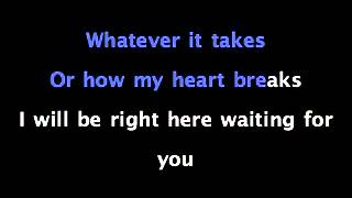 For You I Will - Monica Ft. 112 - KARAOKE SING ALONG with Lyrics