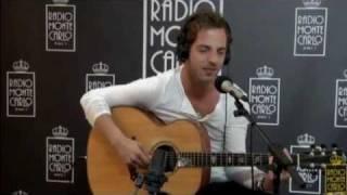 James Morrison - I won't let you go (acoustic version - live @ Radio MonteCarlo 2011)