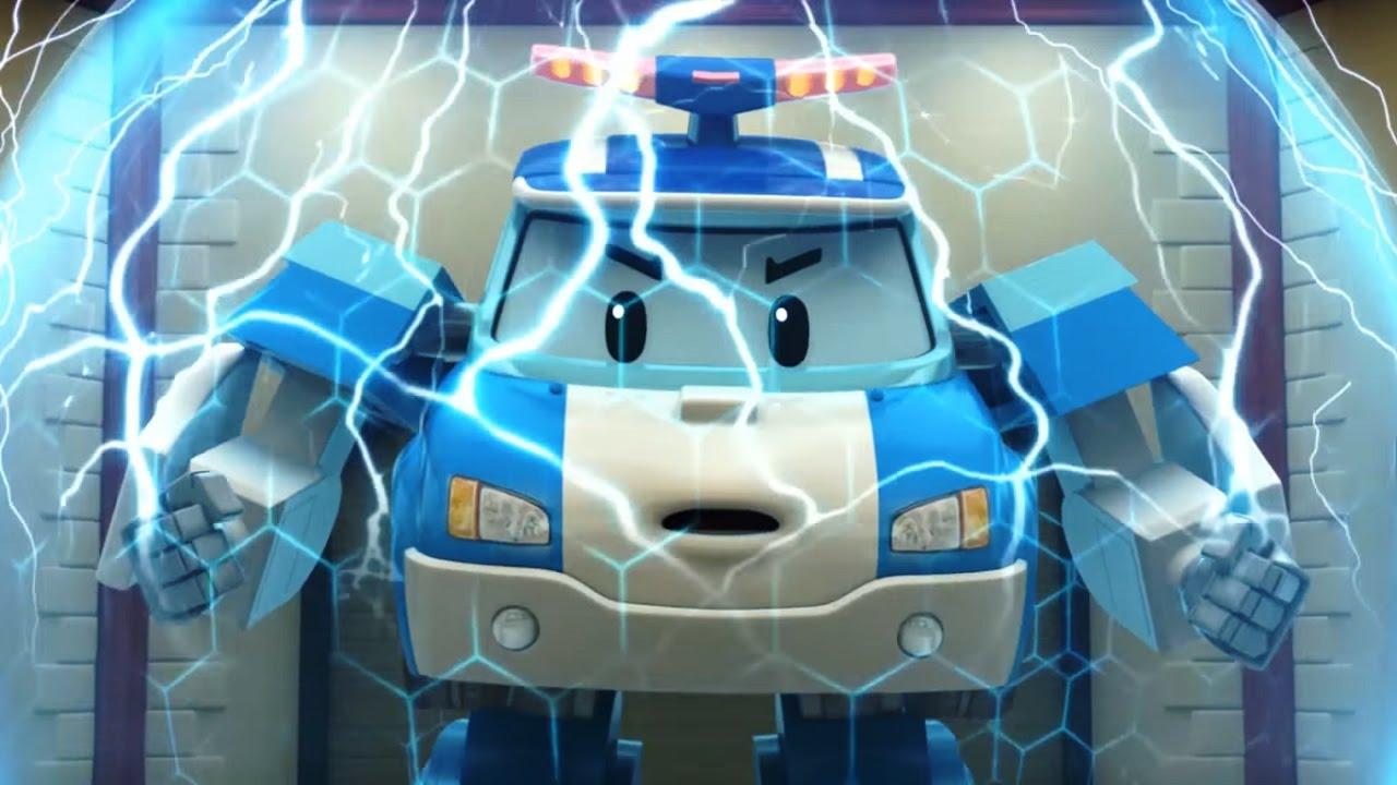 Робокар Поли  Топ5 серий Самые захватывающие мультики про машинкитрансформеры