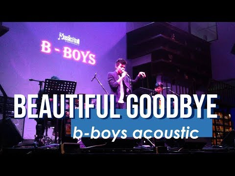 Beautiful Goodbye - Maroon5 (B-BOYS cover)