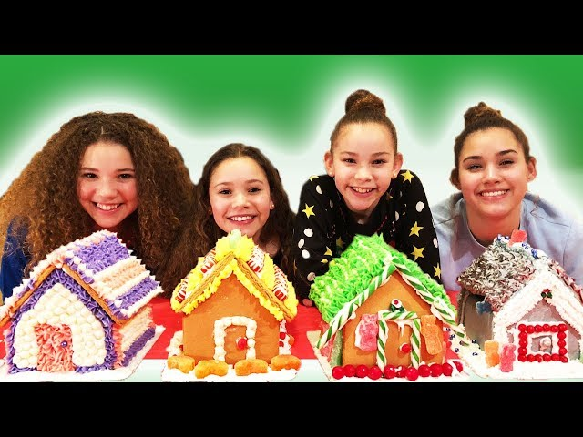 Gingerbread House Decorating Challenge (Haschak Sisters)