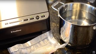 Using a Vacuum Sealer for Sous Vide Cooking