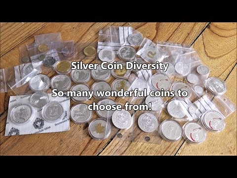 The diversity of silver coins in incredible - So many to choose from!?!?