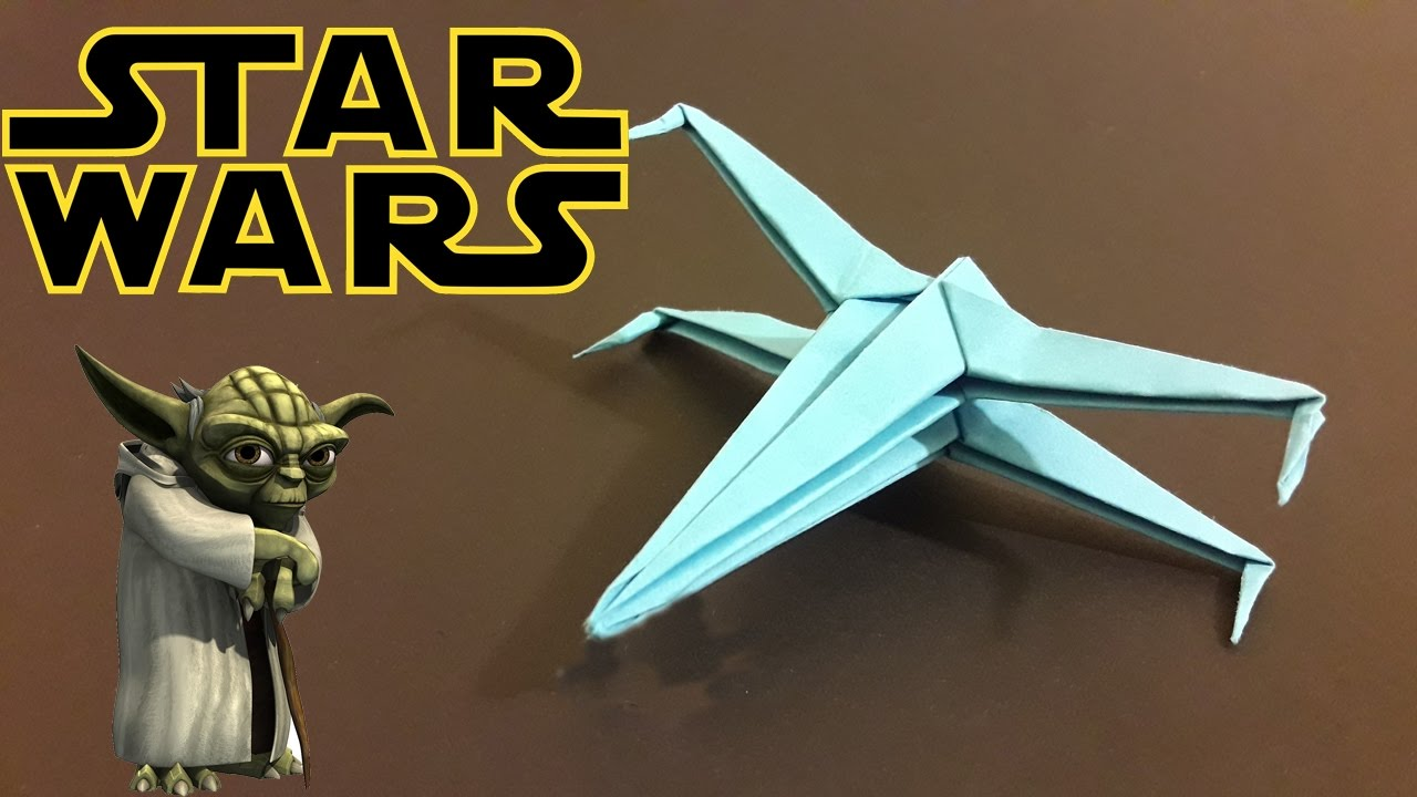 Origami X Wing Tutorial