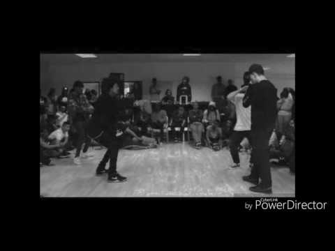 GOD'S PLAN - Busta Rhymes ( LES TWINS MUSIC) Larry Freestyle At RBH 2016