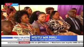 Naibu wa rais azungumuzia msitu wa Mau