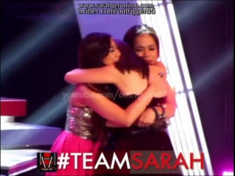 Sarah Geronimo's Reactions: On Team Sarah Winner & Sexy Shoulders Ni Sarah OFFCAM (22Sep13)