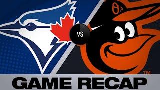 6/13/19: Blue Jays tally 17 hits, 12 runs in win