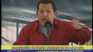 Presidente Chávez sobre el Software Libre (1)
