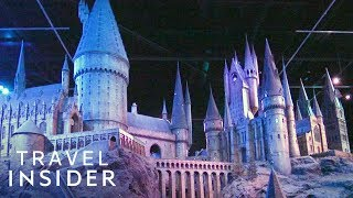 What It's Like At The Official Harry Potter Set At Warner Bros. London Studio