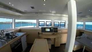 Lagoon 52 catamaran Sailing