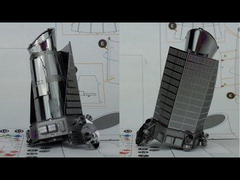 Metal Earth build - Kepler spacecraft
