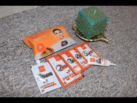 VLCC : Papaya Fruit Facial Kit Step by Step Review Super Affordable (URDU HINDI )