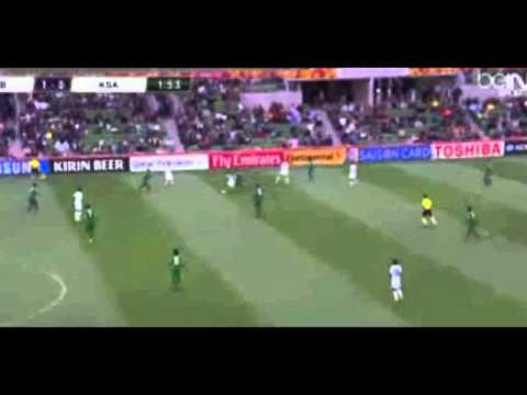 Saudi Arabia vs Uzbekistan 1-3 1st goal [18-1-2015] AFC Asian Nations Cup 2015