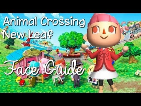 Animal crossing new leaf face guide hd youtube for Animal crossing new leaf arredamento