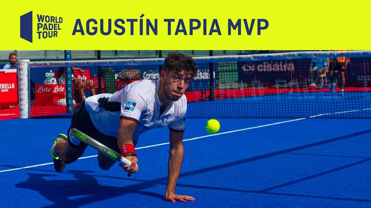 Agustín Tapia - MVP Sardegna Open - World Padel Tour