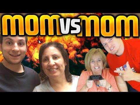 YOUTUBER'S MOM'S VS EACHOTHER OMG!!!