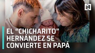 """Download Video """"Chicharito"""" Hernández se convierte en papá - Las Noticias MP3 3GP MP4"""